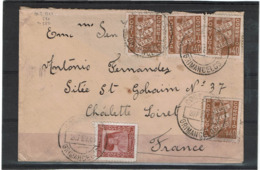 LCTN57/2 - PORTUGAL LETTRE FEVRIER 1940 - Lettres & Documents