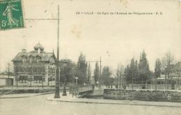 WW 59 LILLE. Pont Et Avenue De L'Hippodrome - Lille