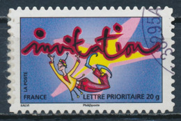 France - Timbre Pour Invitation YT A348 Obl. Cachet Rond - Francia