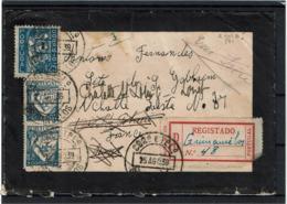 LCTN57/2 - PORTUGAL LETTRE RECOMMANDEE AOÛT 1939 - 1910-... République