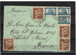 LCTN57/2 - PORTUGAL LETTRE AOÛT 1933 - 1910-... République
