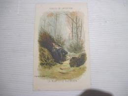 Chromos Ou Images D'après Gustave Doré - LA MORT Et Le BUCHERON 30 Octobre 1936   TBE - Colecciones
