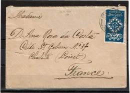 LCTN57/2 - PORTUGAL LETTRE AVRIL 1940 - 1910-... République