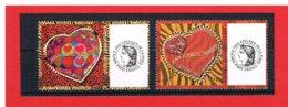 PERSONNALISES - 2006 - N°3861A  Et N°3862A - COEUR J.L SCHERRER 20 G Et 50 G AVEC VIGNETTE CERES  - Y&T- COTE : 10 EUROS - France