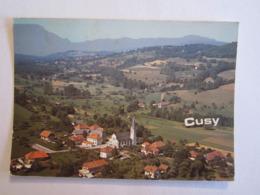 74 Haute Savoie Cusy Vue Générale - Autres Communes