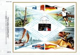 """"""" GENERAL DE GAULLE / MEILLEURS VOEUX 1981 """" Sur Feuillet CEF N°té De 1980 N° YT 2114. Parfait état FDC - De Gaulle (General)"""