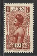 GABON 1932 YT Taxe 24** - MNH - SANS CHARNIERE NI TRACE - Gabon (1886-1936)