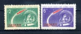 1961 VIETNAM DEL NORD SET ** 228/229 - Vietnam