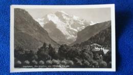 Interlaken Die Jungfrau Vom Höheweg Aus Ges Switzerland - BE Berne