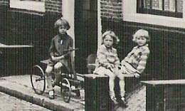 HAARLEM Groot Heiligland Kinderen Auto Melkkar   Ca 1935 ? - Haarlem