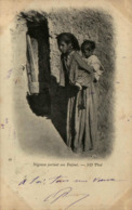 Algérie - Négresse Portant Son Enfant - Algeria
