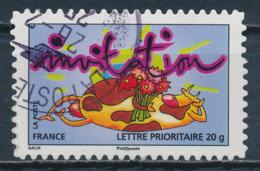 France - Timbre Pour Invitation YT A353 Obl. Cachet Rond - Francia