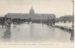 25/12        75    Paris   Crue De La Seine 1910    L'esplanade Des Invalides  (animations) - Inondations De 1910