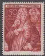 Liechtenstein 1949 250-J. Unterland 1.50Fr Fürst Johann Adam I 1v ** Mnh (44966A) - Ongebruikt