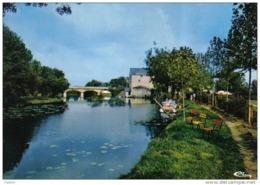 Carte Postale 79. Argenton-l'Eglise  Hotel-Restaurant Du Moulin Trés Beau Plan - Francia
