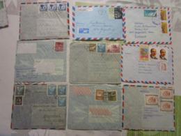 Lot De 27 Lettres Amerique Latine 5 - Briefmarken