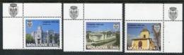 MOLDOVA 1996 500th Anniversary Of Chisinau MNH / **.  Michel 219-21 - Moldavie