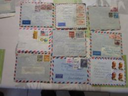 Lot De 27 Lettres Amerique Latine 6 - Briefmarken