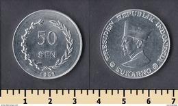 Irian Barat 50 Sen 1962 - Indonesia