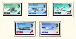 ANTIGUA  -  1970 Air Services Set Unmounted/Never Hinged Mint - Antigua Et Barbuda (1981-...)