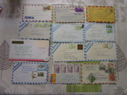 Lot De 24 Lettres Amerique Latine 8 - Briefmarken
