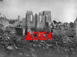 55 Meuse MOGEVILLE Eglise Ruines Verdun 1916 Occupation Allemande Etain Morgemoulin Gincrey Maucourt Dieppe - Francia