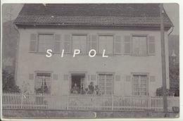 Maison Du Directeur D école à Urbès 68 ( Actuellement Mairie ) Vers 1898 - Lieux