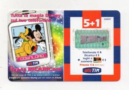 "Ricarica Telefonica "" TIM "" Da 5 + 1 Euro - Usata - Validità 04.2005 - (FDC17598) - Schede GSM, Prepagate & Ricariche"