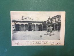 Cartolina Firenze - Piazza Della SS. Annunziata - 1902 - Firenze
