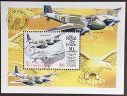 St Vincent 1998 RAF Anniversary Aircraft Birds Minisheet MNH - St.Vincent Y Las Granadinas