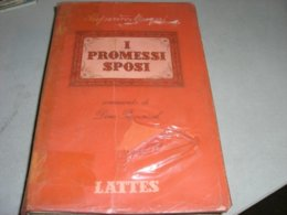 LIBRO I PROMESSI SPOSI -EDIZIONE LATTES 1960 - Libros, Revistas, Cómics