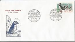 Enveloppe Premier Jour - FDC - 1960 - Macareux - Les Sept Iles Protection De La Nature  - Belle Cote - FDC