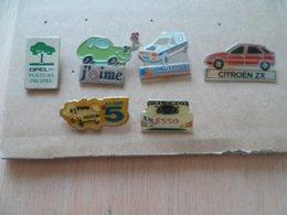 LOT DE 6  PIN' S   VOITURE - Badges