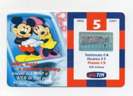 "Ricarica Telefonica "" TIM "" Da 5 Euro - Usata - Validità 12.2004 - (FDC17600) - Schede GSM, Prepagate & Ricariche"