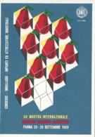 PARMA 24a MOSTRA INTERNAZIONALE INDUSTRIE CONSERVE ALIMENTARI 1969 ANNULLO SPECIALE - Manifestazioni
