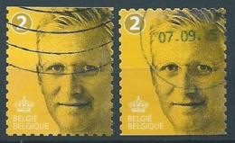 België OBP Nr: 4491 - 4491a Gestempeld / Oblitérés - Koning Filip I - Belgium