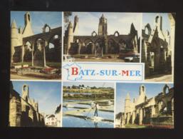 Batz-sur-Mer (44) : La Chapelle N.D. Du Murier, L'église Saint Guénilé Et Les Marais Salants - Batz-sur-Mer (Bourg De B.)