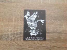 Carte De Visite De Bar Musical  Le Petit Journal   Paris 5eme - Cartes De Visite
