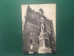 Cartolina Prato - Piazza Del Comune - Monumento A Datini - 1960 - Firenze