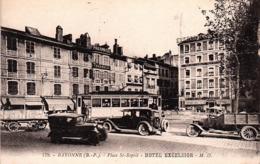BAYONNE - Place St. Esprit - Hotel Exelsior. - Bayonne