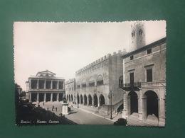 Cartolina Rimini - Piazza Cavour - 1952 - Rimini