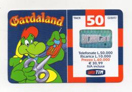 "Ricarica Telefonica "" TIM "" Da Lire 50.000 - Usata - Validità 6.2002 - (FDC17602) - Schede GSM, Prepagate & Ricariche"