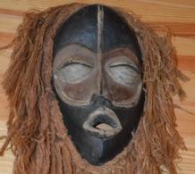 Masque Africain Cote D'Ivoire Collecte MAN Masque Dan - Art Africain