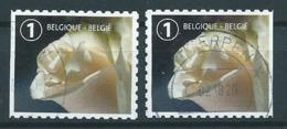 België OBP Nr: 4710 + 4710a Gestempeld / Oblitérés - Rouwzegel - Belgique