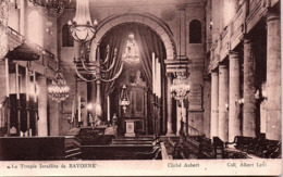 BAYONNE - JUDAICA - Temple Israelite - Bayonne