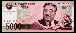 NORTH KOREA 5000 WON 2008(2013) COMMRMORATIVE Pick CS17 Unc - Korea, Noord