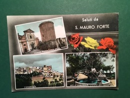 Cartolina Saluti Da S. Mauro Forte - Torre Normanna - 1968 - Matera