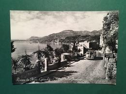 Cartolina Riviera Dei Fiori - Grimaldi - Confine Italo Francese - 1956 - Imperia