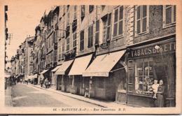 BAYONNE - Rue Pannecau - Bayonne