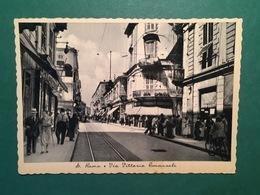Cartolina S. Remo - Via Vittorio Emanuele - 1930 Ca. - Imperia